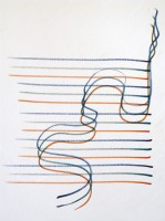 Yaacov AGAM   Sketch #1b   Pen and ink available for sale on www.kunzt.gallery