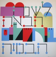 Yaacov Agam | Next year in Jerusalem | undefined available for sale on www.kunzt.gallery