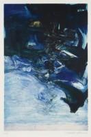 Zao WOU-KI | Composition bleu, rose et noir | Aquatint available for sale on www.kunzt.gallery