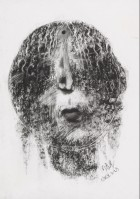 Zhou CHUNYA | Untitled | Charcoal available for sale on www.kunzt.gallery