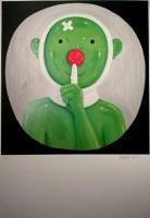 Shen JINGDONG | Homage to Bertolt Brecht 2 | Silkscreen available for sale on www.kunzt.gallery
