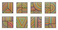 Sol LeWitt | Color Bands (portfolio of 8) | undefined available for sale on www.kunzt.gallery