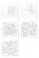 Sol LEWITT | The location of lines (portfolio of 5) | Etching available for sale on www.kunzt.gallery